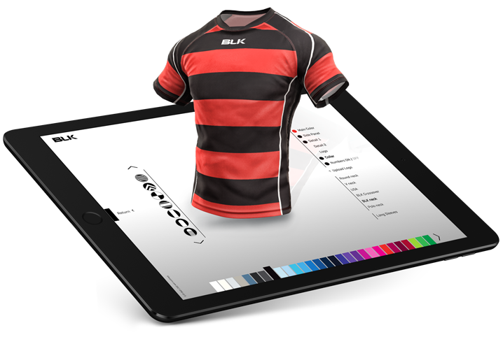 <span>design your own</span>  rugby league kit