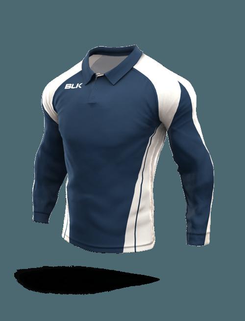 Lawn Bowls Long Sleeve Polo